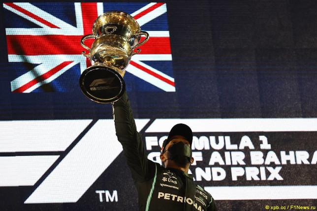 Гран При Бахрейна. Льюис Хэмилтон