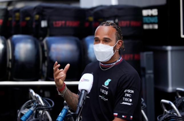 Льюис Хэмилтон, фото пресс-службы Mercedes