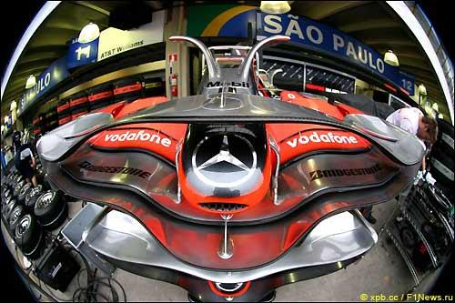 Передние крылья McLaren