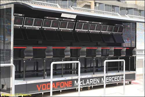 Командный мостик McLaren