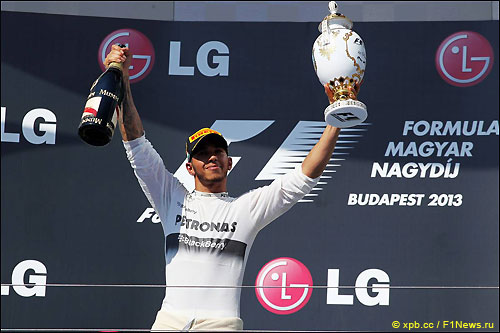 Льюис Хэмилтон - победитель Гран При Венгрии