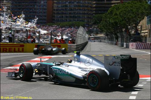 Льюис Хэмилтон на прошлогоднем Гран При Монако