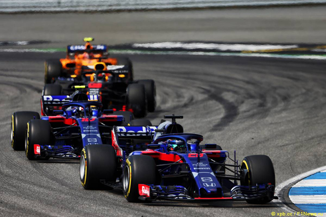 Гран При Германии. Гонщики Toro Rosso