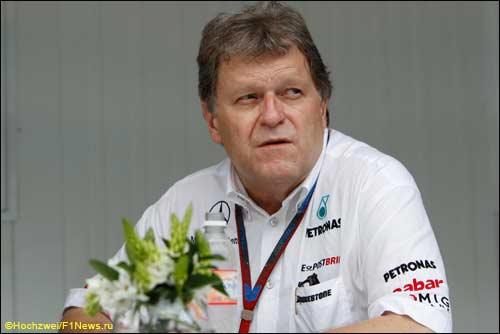 Mercedes Motorsport Норберт Хауг