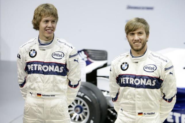 Себастьян Феттель и Ник Хайдфельд, 2007 год