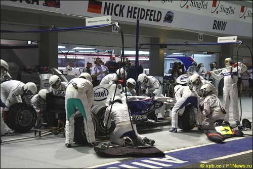 BMW Sauber. Ник Хайдфельд