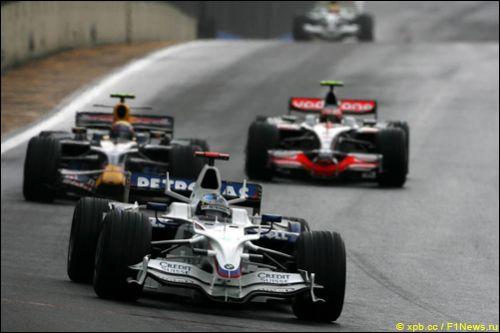 Ник Хайдфельд на Гран При Бразилии 2008 года