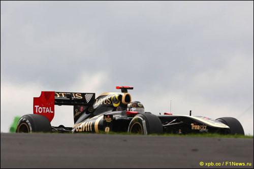 Ник Хайдфельд на трассе Гран При Германии