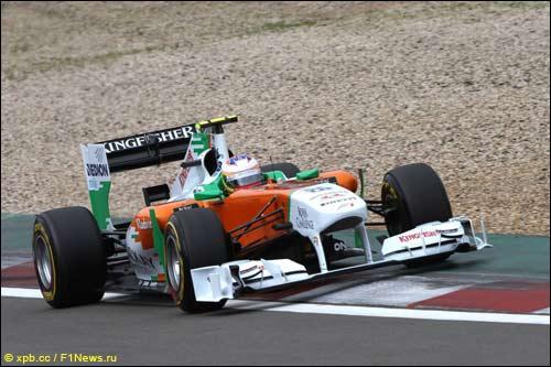 Пол ди Реста на Гран При Германии