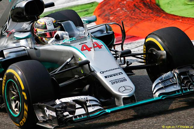 Хэмилтон одержал победу квалификацию Гран-при Италии