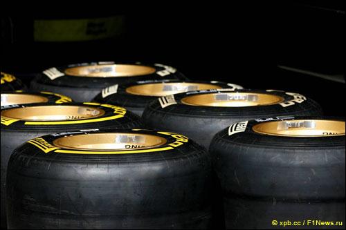 Гоночная резина Pirelli PZero