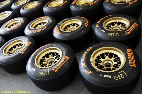 Прототип шин Pirelli на следующий сезон