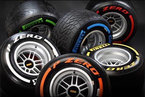Шины Pirelli 2013 года