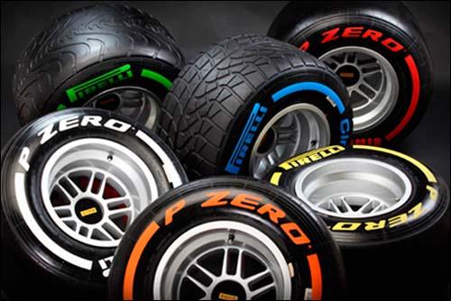 Pirelli изменила состав шин Hard