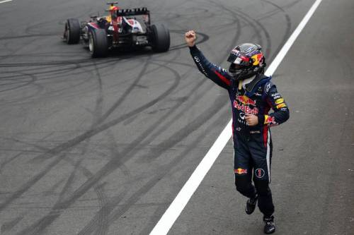 Гран При Индии. Себастьян Феттель