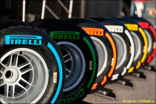 Шины Pirelli 2014 года