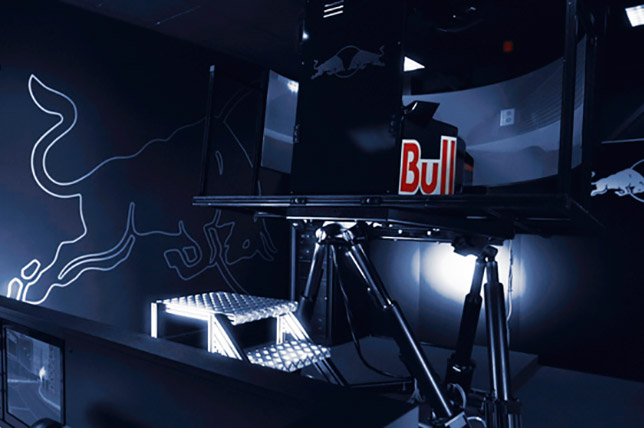 Симулятор Red Bull Racing предыдущего поколения