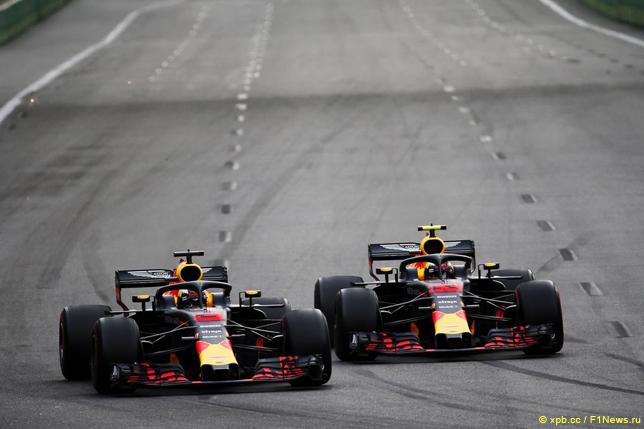 Гран При Азербайджана. Гонщики Red Bull Racing