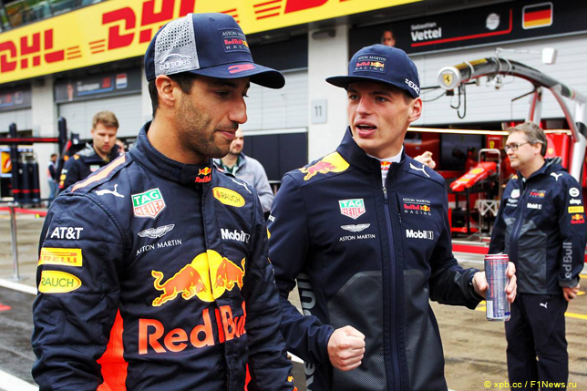 Гонщики Red Bull Racing