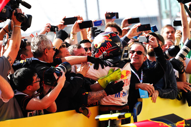 Гран При США. Макс Ферстаппен
