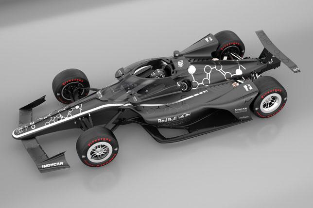 Aeroscreen на машине IndyCar