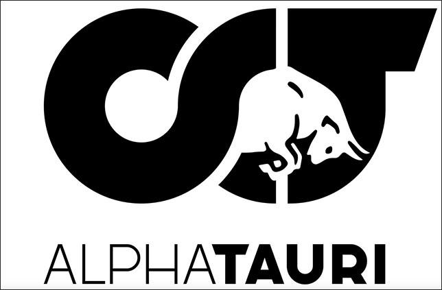 Логотип AlphaTauri