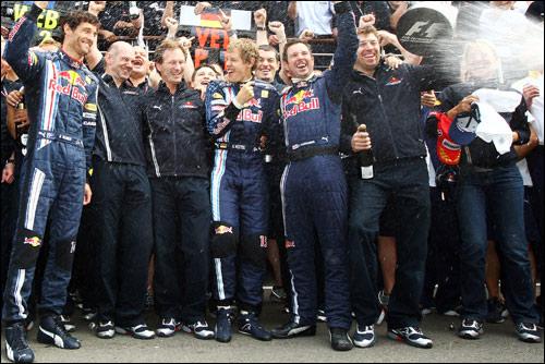 В Red Bull празднуют победу
