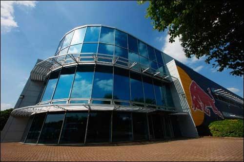 База Red Bull Racing в Милтон-Кинсе