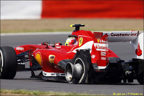 Фелипе Масса на Гран При Великобритании