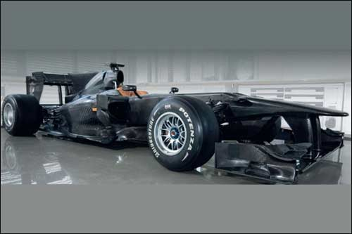 Шасси Toyota TF110