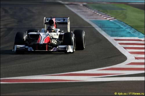 Ян Хароуз за рулем F111