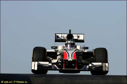 Натанаэль Бертон за рулем F111