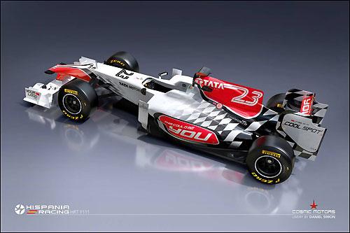 Машина HRT F111