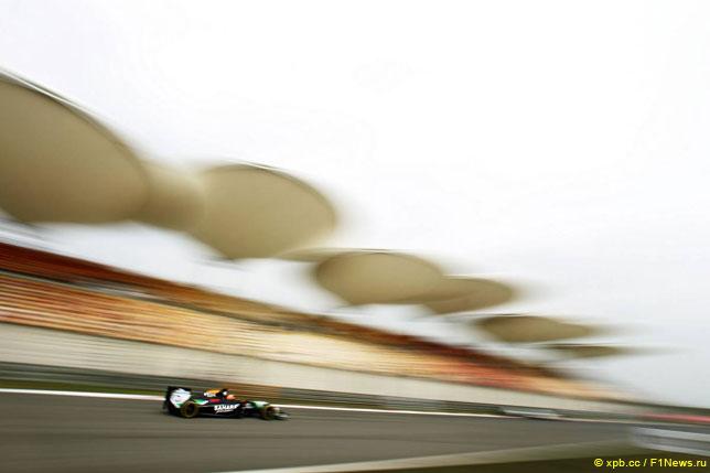 Нико Хюлкенберг на прошлогоднем Гран При Китая