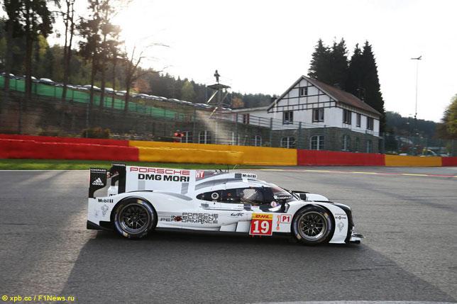Нико Хюлкенберг за рулем Porsche на