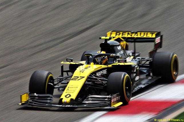 В Renault восстановили MGU-K Нико Хюлкенберга