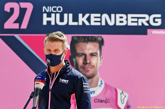 В 2020 году Нико Хюлкенберг трижды заменял гонщиков Racing Point
