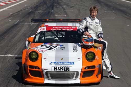 Нико Хюлкенберг и Porsche 911 GT3 R