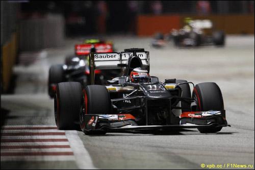 Нико Хюлкенберг на Гран При Сингапура