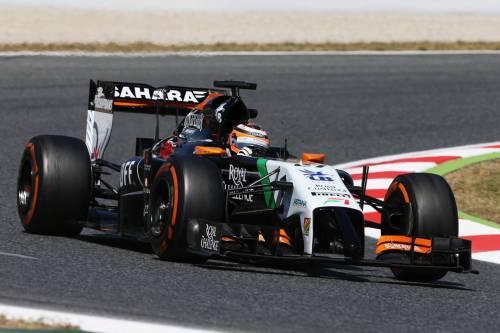 Гран При Испании. Нико Хюлкенберг