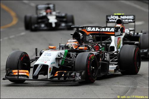 Нико Хюлкенберг на Гран При Монако