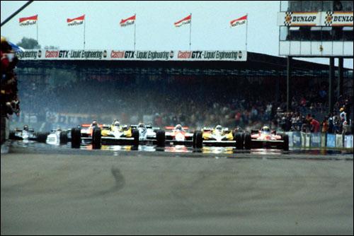 ГП Великобритании'81: старт