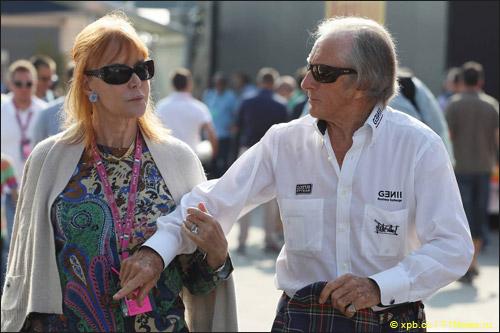 Джеки Стюарт и его жена Хелен