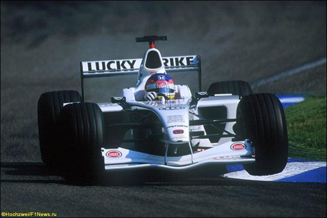 Жак Вильнёв на Гран При Германии 2001 года