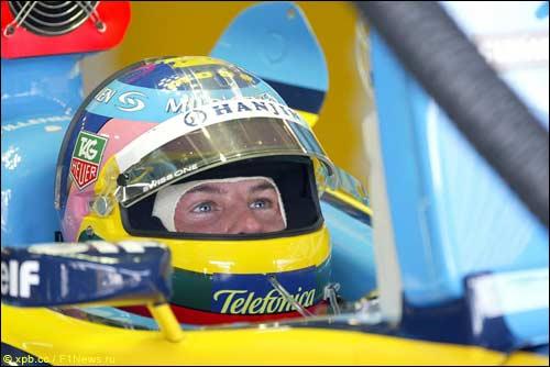 Жак Вильнев уже выступал в Renault в 2004-м году