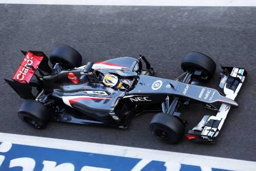 Маркус Эриксон за рулем Sauber