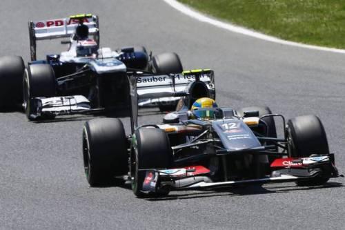 Гран При Испании. Эстебан Гутьеррес
