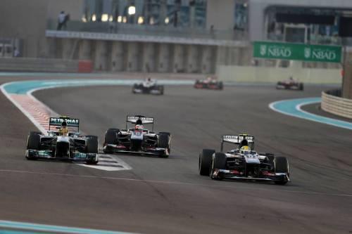 Гран При Абу Даби. Эстебан Гутьеррес (справа)