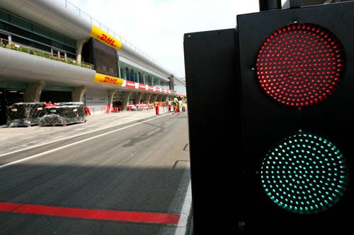 Пит-лейн Shanghai Circuit