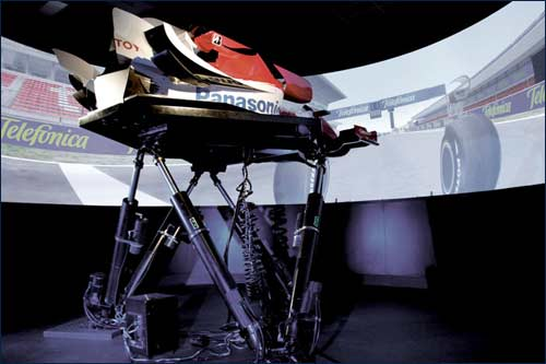 Симулятор Toyota F1 на базе в Кёльне